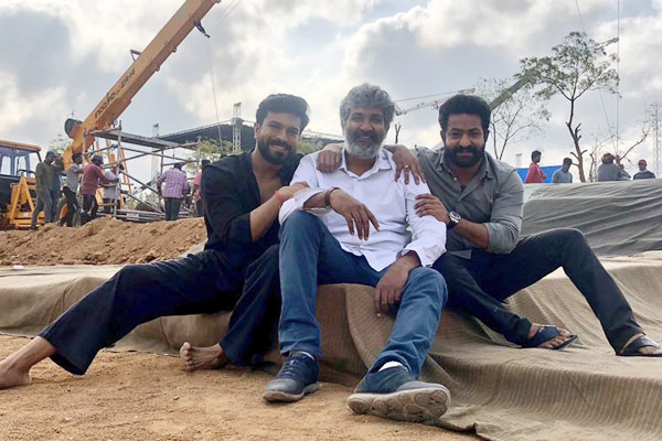 Rajamouli's RRR action sequence on never before scale