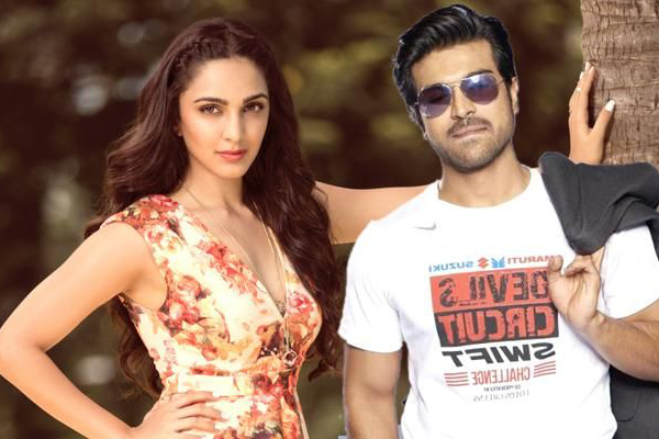 Ram Charan and Kiara sizzle for a peppy number