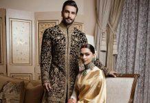 Ranveer and Deepika wedding reception photos