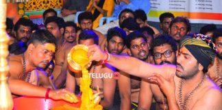 Photos : Sharwanand at Ayyappa Swamy Maha Padi Pooja