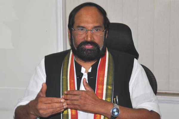 Uttam Kumar Reddy fires on TV9 for telecasting CPS survey