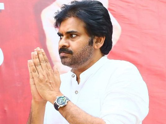 Pawan press note condemning rumours on doing movie