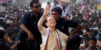 'Mother of Telangana' Sonia says Congress paid price for creating new state
