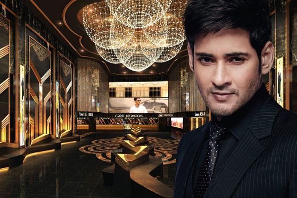 How much Mahesh owns in AMB Cinemas?