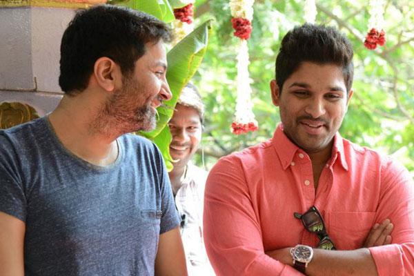 All set for Allu Arjun – Trivikram film