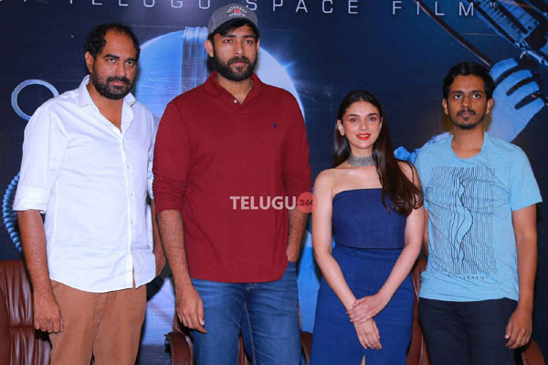 Antariksham Success Meet