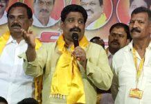 Jagan's talk on corruption 21st Century joke: Govt Whip Buddha-Venkanna