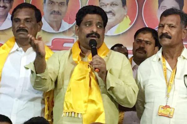 Jagan's talk on corruption 21st Century joke: Govt Whip