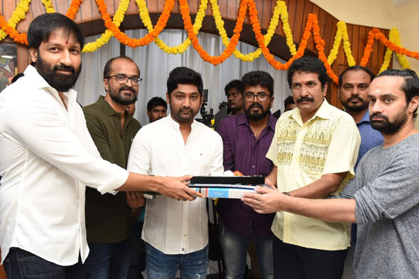 Gopichand's spy thriller launched