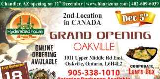 NAWABI HYDERABAD HOUSE BIRYANI PLACE - Coming To Oakville, Canada