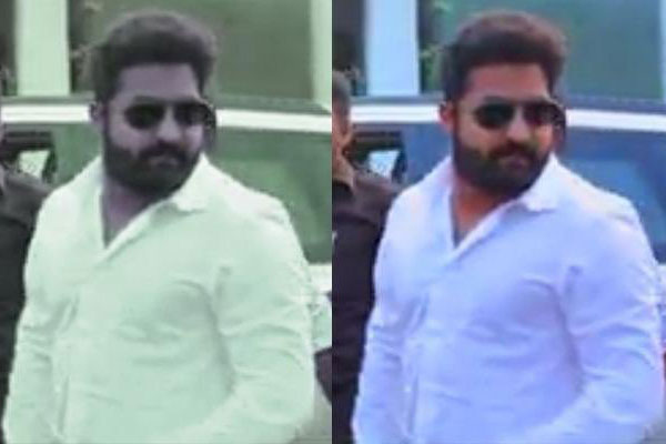 NTR's bulky look: A Fake Story