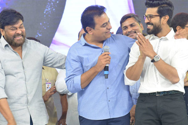 Ram Charan is better speaker than me, he may come into politics: KTR