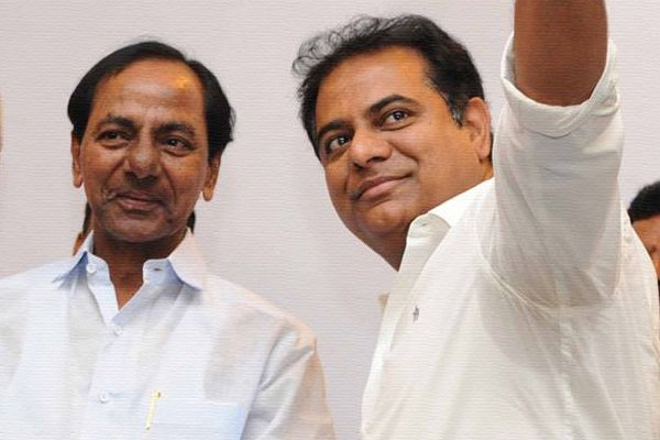 KCR-KTR shower love and affection on Andhra voters