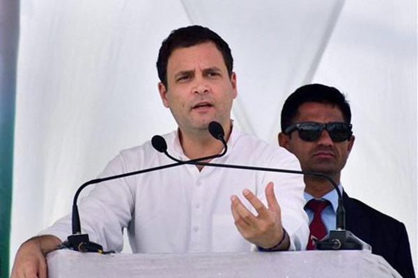 KCR showing signs of nervousness: Rahul