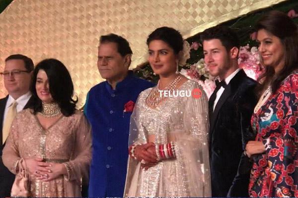 T Subbarami Reddy at Priyanka chopra reception