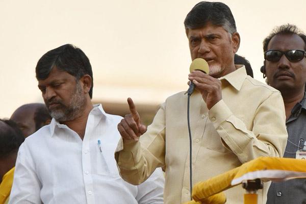 KCR betrayed Telangana, Modi betrayed India: CBN