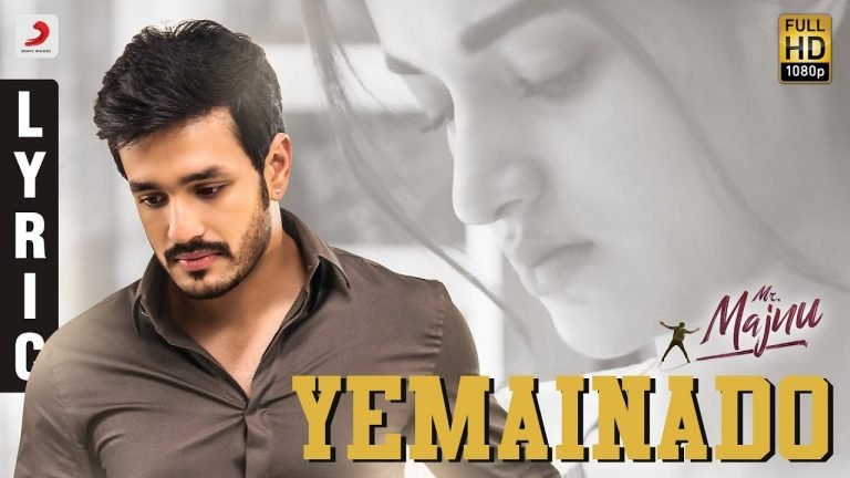 Mr Majnu ' Yemainado ' – A mellifluous melody with heartfelt lyrics