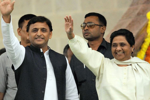Threat to Modi dream: SP-BSP join hands in UP