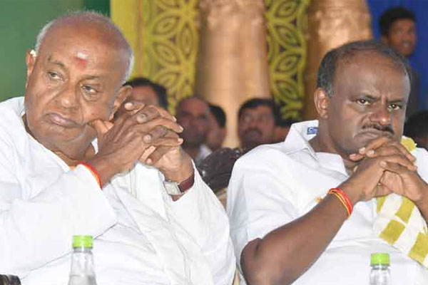 Is all really well as announced by Devegouda and Kumaraswamy?