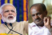 Why Modi calls CM Kumara Swamy as a clerk?