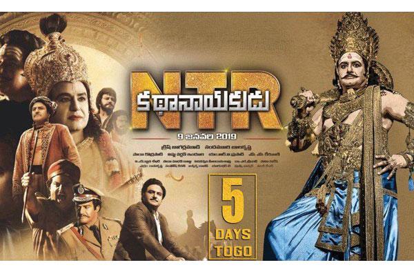 Highlights of 'NTR – Kathanayakudu'