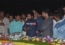 Nandamuri family members pay tribute to Sr NTR
