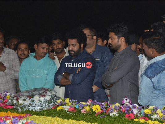 Nandamuri family members pay tribute to Sr NTR