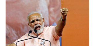 To set his son, Naidu leading Andhra to sunset: Modi