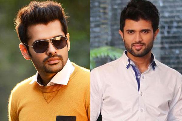 Has Ram replaced Vijay Devarakonda ?