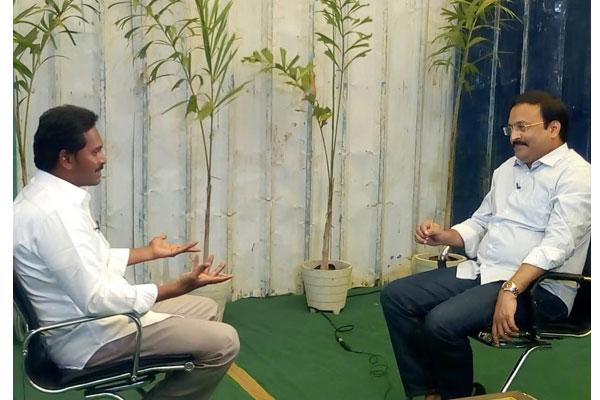 Gist : Jagan's TV9 interview