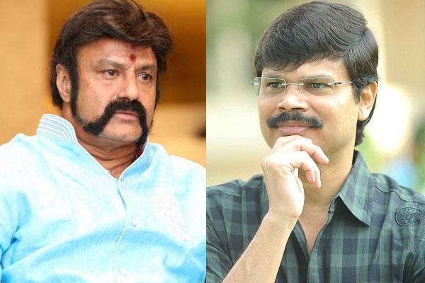 Balakrishna and Boyapati film hot in Trade