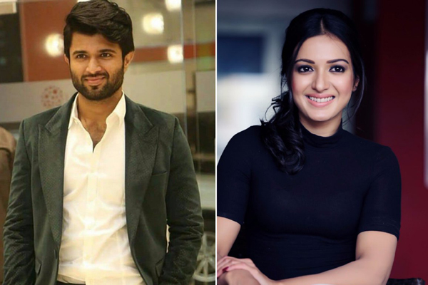 Catherine Pairs up with Vijay Deverakonda