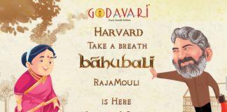 """Godavari welcomes S.S Rajamouli to Boston"""
