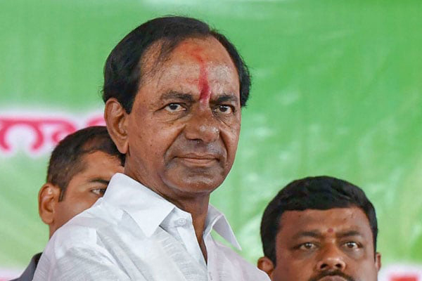 Telangana RTC employees give KCR a taste of his own medicine
