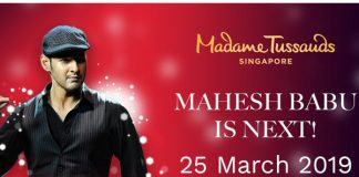 Mahesh's Madame Tussauds treat on March 25th