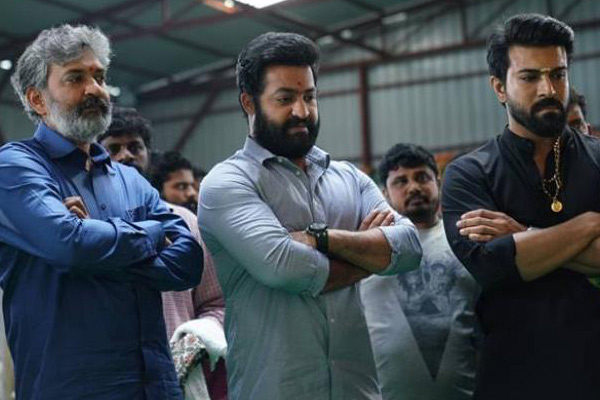 NTR all set for hectic RRR shootNTR all set for hectic RRR shoot