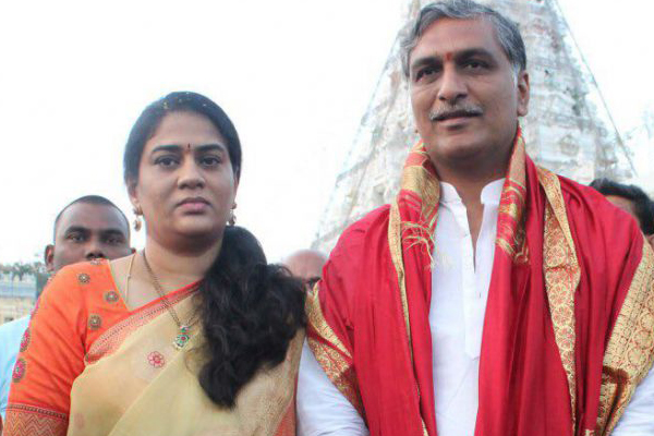 Will Harish Rao's wife contest from Siddipet?