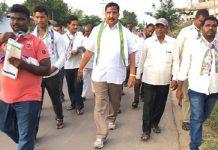 YSRCP Leader Yadam Balaji at Chandrababu Residence
