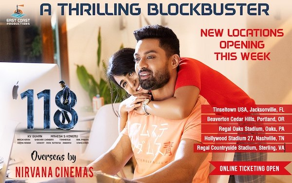 118 Enters 2nd Week In USA With More Locations