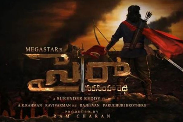 Sye Raa Narasimha Reddy aims huge pre release business in Telugu States