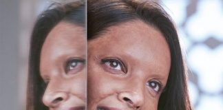 First Look Deepika Padukone surprises as acid attack survivor