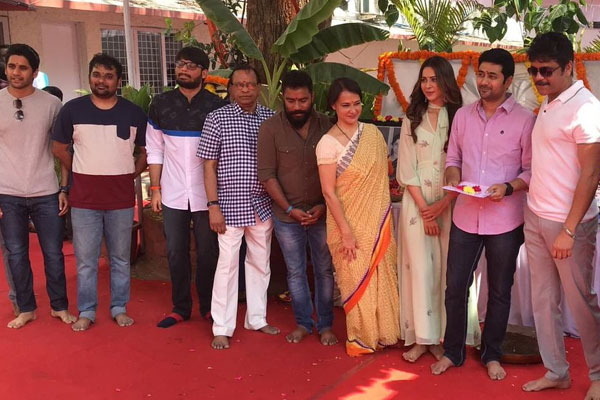 Nagarjuna's Manmadhudu 2 Launched