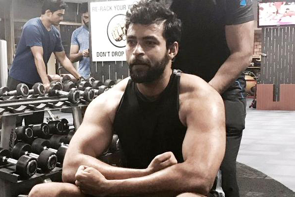 Varun Tej sweats out for boxer's role
