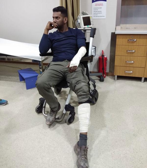 Vishal injures himself in Turkey