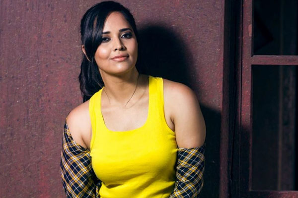 Anasuya turns Chandrakala for Ravi Teja