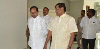 KCR meets Mandava Venkateswara Rao