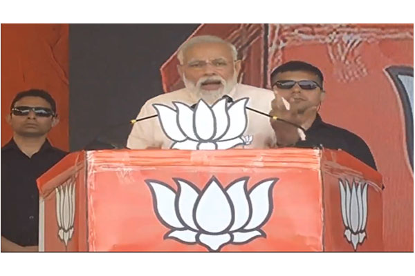 Chandrababu Naidu using Polavaram project as ATM: Modi