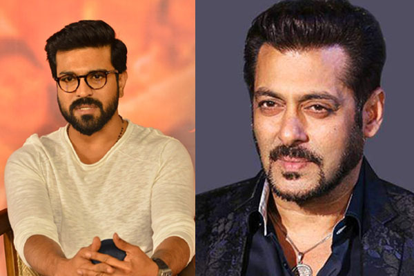 Ram Charan's voice for Salman Khan