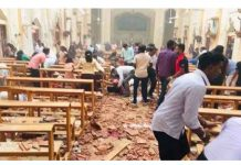 Sri Lanka suicide bombings on Easter