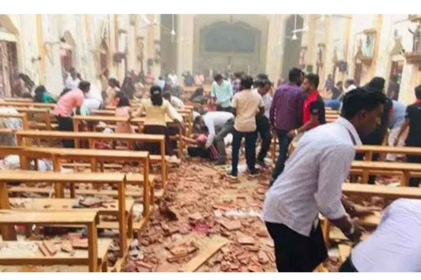 Sri Lanka suicide bombings on Easter